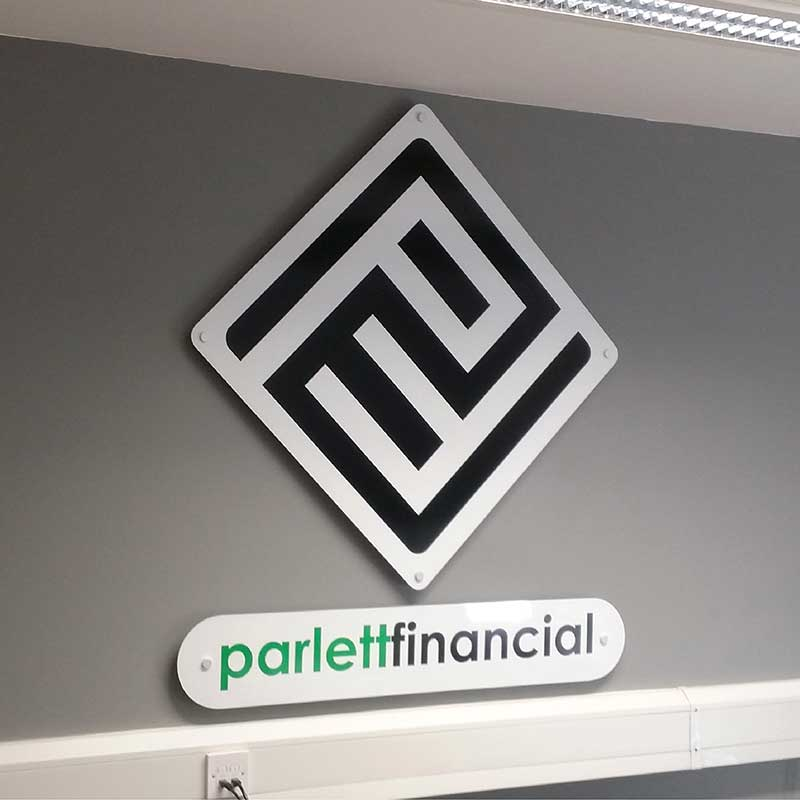 Partlett Sign